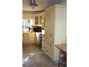 Kitchen Units and appliances including double oven and