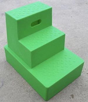 Plastic mounting block