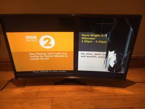 Samsung UE32jak Curved Smart Tv. Damaged Screen