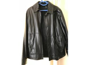 To Baker leather jacket size large colour black in Cheadle