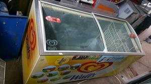 Wall's commercial ice cream freezer fully working with guaranty in good condition fully working