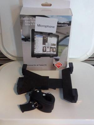 tablet holder 10.1 or smaller for mic stand or tripod