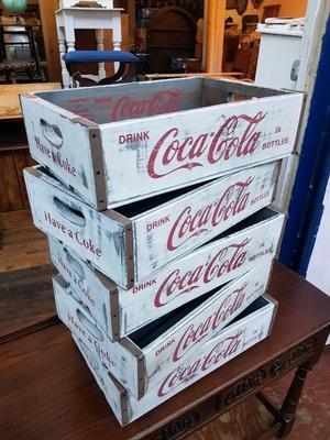 Coca Cola Crates