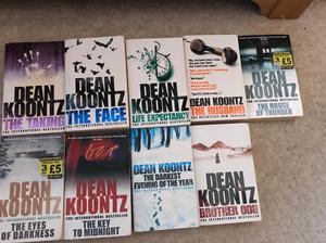 Dean Kuntz books