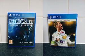 FIFA 18 Ronaldo Edition Star Wars Battlefront II Elite Trooper Deluxe Edition Playstation 4 Games