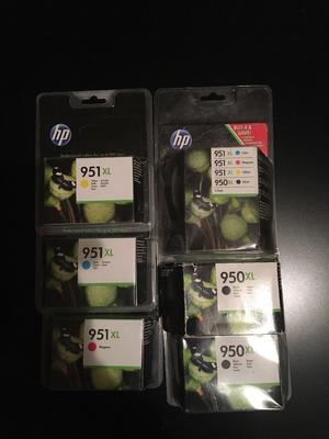 HP ink cartridges xl brand new all colours