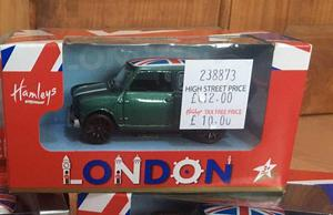 Hamleys Mini Cooper Collectable - new
