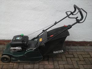 Hayter Harrier 48 Self Prepelled Petrol Lawnmower with rear roller... SERVICED
