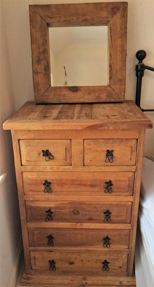 Large Chest of drawers &/or mirror