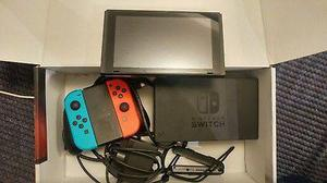 Nintendo Switch 32GB Console (with Neon Red/Neon Blue JoyCon