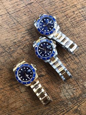 Rolex Submariner 18k Two Tone Gold S/ETA