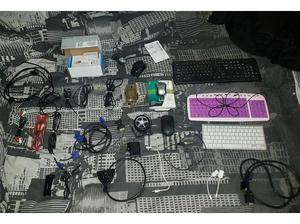 joblot bundle of mouses keyboards pc computer components