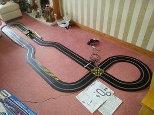 scalextric set james bond quantum of solace plus track extension set excellent condition £55