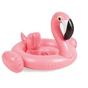 Amxylife Pink Flamingo Baby Swim Ride-On Float Swimming Pool