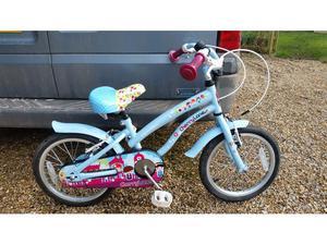 Apollo cherry lane 16 inch childs bike in very good