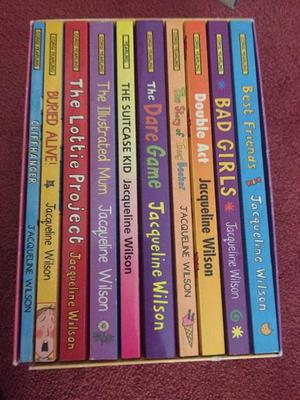 Box Set Of 10 Jacqueline Wilson Books.