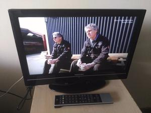 "Excellent 19"" TOSHIBA LCD TV hd ready freeview inbuilt."