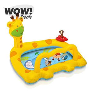 Intex Smiley Giraffe Baby Pool Inflatable Kids Swimming