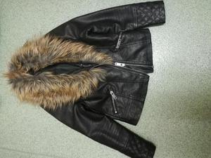 Leather jacket girls 7/8yrs