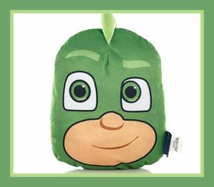 PJ Masks Gekko 3D character plush shaped cushions