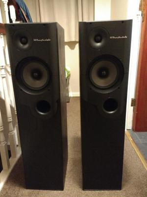 2 Wharfedale Sapphire SP-85 speakers