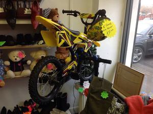 Kids Motor Bike Style Pedal Bike