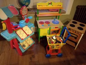 Kids Play Kitchen Furniture and Items