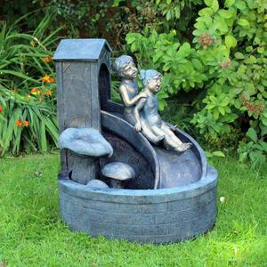 Kids Sliding Garden Water Feature Fountain (FREE LOCA