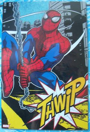 "Marvel Spider Man Garden Flag Decorative 12"" x 18"" Indoor"