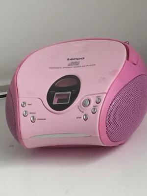 Portable Stereo Radio CD Player