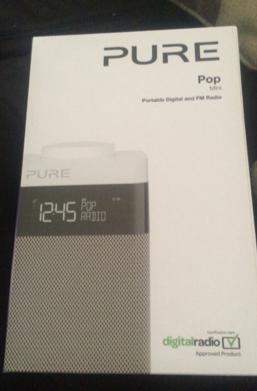 Pure pop mini portable digital and fm radio