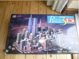 Puzz3D New York, New York City Skyline Puzzle!  Pieces