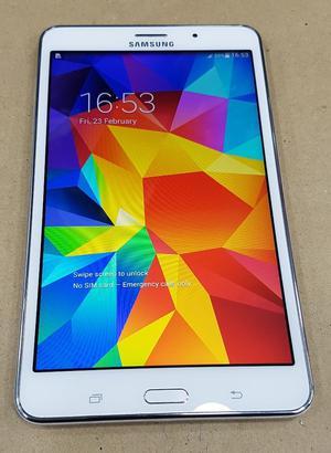 """Samsung Galaxy Tab 4 8GB, Wi-Fi + 4G (Unlocked) 7"""" White"""