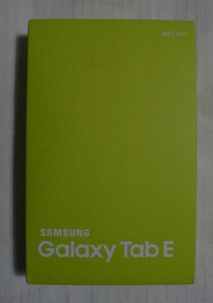 "Samsung Galaxy Tab E 8GB Wifi 9.6"" screen android tablet"