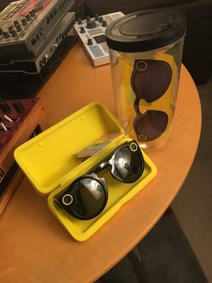 Snapchat Spectacles, boxed, never used, in black