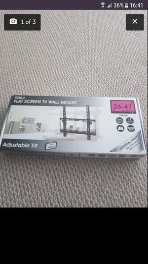 Tv brackets x 2.. brand new in box £15 and £5