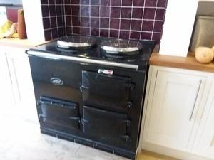 Two oven Electric AGA with AIMS