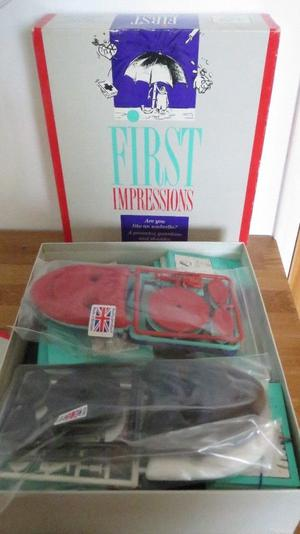 Vintage First Impressions Family Board Game By Waddingtons