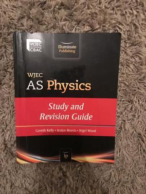 WJEC A level physics book