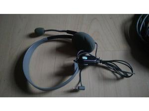 XBOX 360 power cable, wired headset and optical cable - Good