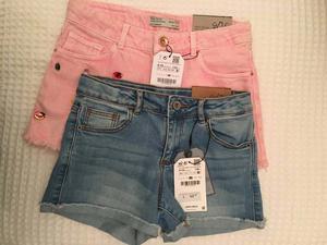 Zara Girls denim shorts 9/10