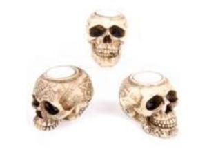celtic skull tea light holder in Abertillery