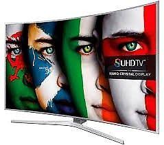 "55""""Samsung 4k smart curve tv is guaranteed £520 ONO, need quick sale"