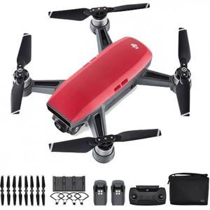 BRAND NEW DJI SPARK FLY MORE COMBO LAVA RED