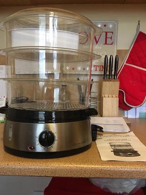 Cookworks food steamer