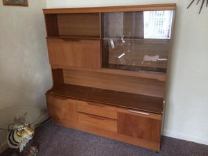 Display Cabinet with built in drinks compartment