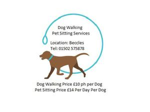Dog Walking & Pet Sitting Services in Beccles