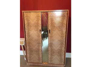 Double wardrobe mid century Copper in Wakefield