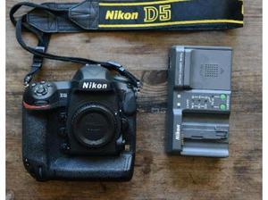 Nikon D5 DSLR camera body only XQD in Swindon