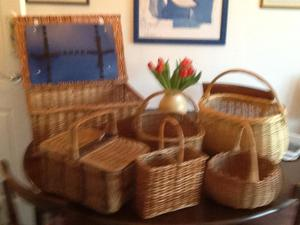 Picnic basket and others
